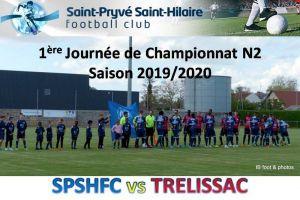 10 Aout 2019<br/>SPSHFC vs TRELISSAC N2