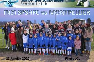 11 Janvier 2020<br/>N2 SPSHFC vs MONTPELLIER