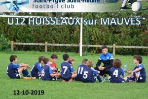 12 Octobre 2019 Tournoi U12 à HUISSEAUX SUR MAUVES