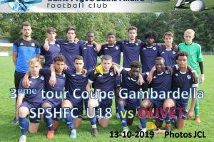 13 Octobre 2019 3ème tour de Coupe Gambardella