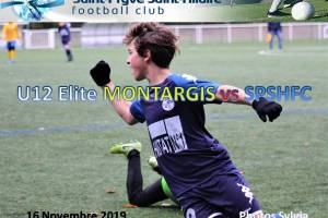 16 Novembre 2019<br/>U12 Elite MONTARGIS vs SPSHFC