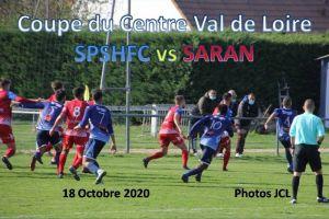 18 Octobre 2020 Coupe du Centre 3ème tour SPSHFC vs SARAN