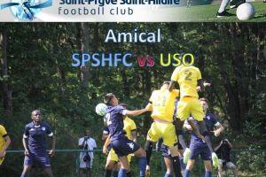 20 Juillet 2019<br/>Match amical contre l'US Orléans