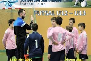 25 Janvier 2020<br/>Coupe Futsal U12 U13