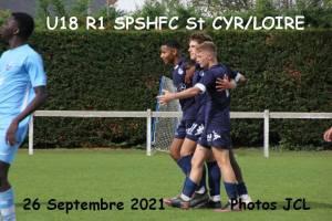25 Septembre 2021<br />U18 R1  SPSHFC  vs St CYR sur LOIRE