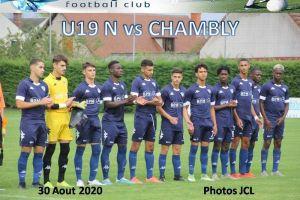 30 Aout 2020<br/>1ère Journée de Championnat U19 N SPSHFC vs CHAMBLY