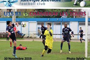 30 Novembre 2019<br/>U15 R1 SPSHFC vs CHAMBRAY les TOURS