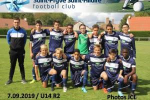 7 Septembre 2019 SPSHFC U14 (R2) contre Déols