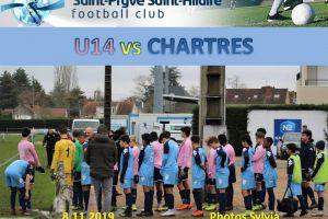 8 Décembre 2019<br/>SPSHFC U14 vs CHARTRES
