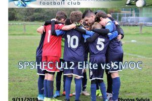 9 Novembre 2019<br/>SPSHFC U12 Elite  vs SMOC