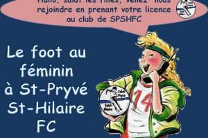 9 Septembre 2021<br />Les féminines du SPSHFC