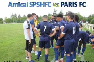 Samedi 1 Aout 2020<br/>SPSHFC U19 N vs PARIS FC