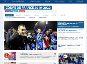site de la FFF