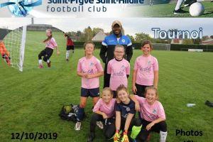 12 Octobre 2019<br/>Tournoi enfants à SPSHFC