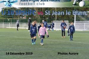 14 Décembre 2019<br/>U10.1 SPSHFC vs St Jean le Blanc