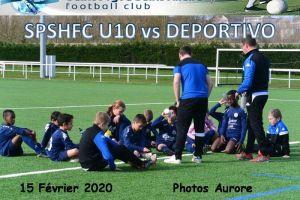 15 Février 2020<br/>SPSHFC U10 vs DEPORTIVO