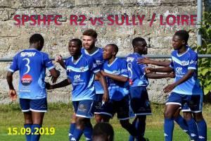 15 Septembre 2019 <br/>SPSHFC R2 vs SULLY  sur LOIRE