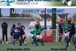 16 Novembre 2019<br/>U15 R1 AMILLY vs SPSHFC