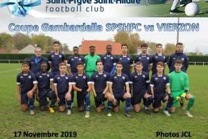 17 Novembre 2019<br/>Coupe Gambardella U18 SPSHFC vs VIERZON