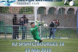 19 Mai 2019<br/>SPSHFC-Bourges 18 R2