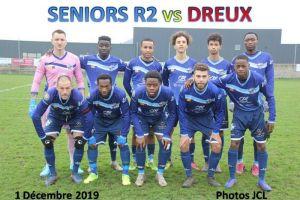 1er Décembre 2019<br/>Séniors R2 SPSHFC vs DREUX