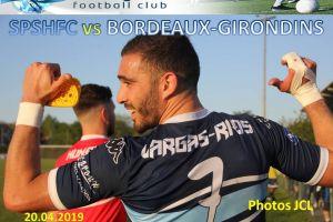 20 Avril 2019<br/>SPSHFC - Bordeaux Girondins
