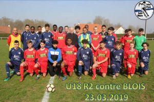23 mars 2019<br/>SPSHFC U18 R2 contre BLOIS