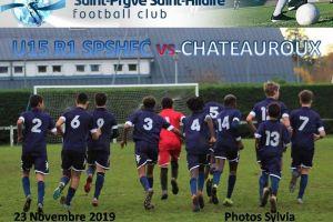23 Novembre 2019<br/>U15 R1 SPSHFC vs CHATEAUROUX