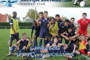 26 Octobre 2019<br/>4ème Tour de Gambardella