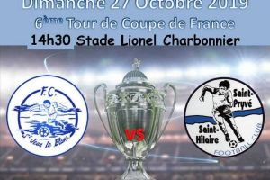27 Octobre 2019<br/>6ème tour de Coupe de France Saint Jean Le Blanc vs SPSHFC