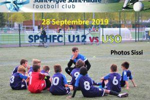 28 Septembre 2019<br/>SPSHFC U12 Elite vs USO
