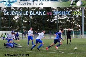 3 Novembre 2019<br/>Championnat R2 St JEAN LE BLANC vs SPSHFC
