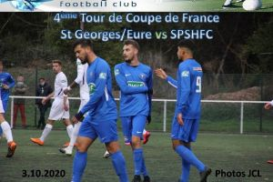 3 Octobre 2020 Coupe de France 4ème Tour St GEORGES sur EURE vs SPSHFC