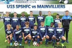 3 Octobre 2020<br />U15 SPSHFC vs MAINVILLIERS
