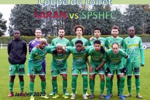5 Janvier 2020<br/>Coupe du Loiret SARAN vs SPSHFC
