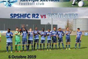6 Octobre 2019<br/>SPSHFC R2 vs PITHIVIERS