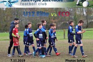 7 decembre 2019<br/>SPSHFC U12 Elite vs FCO