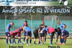 8 Aout 2020<br/>Match Amical vs VIERZON