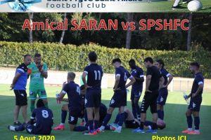5 Aout 2020<br/>Amical N2 vs SARAN