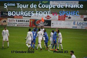 Samedi 17 Octobre 2020 5ème Tour de Coupe de France BOURGES FOOT vs SPSHFC
